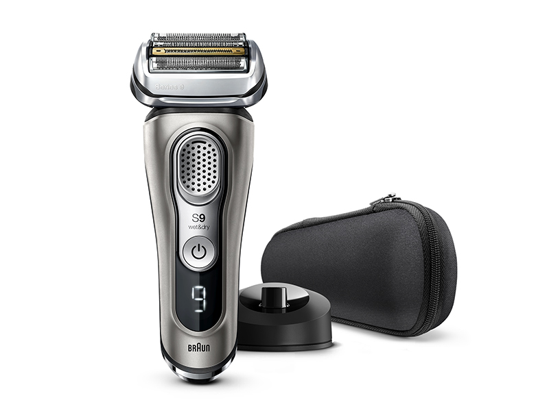 Series 9 9345s Wet & Dry shaver with charging stand
