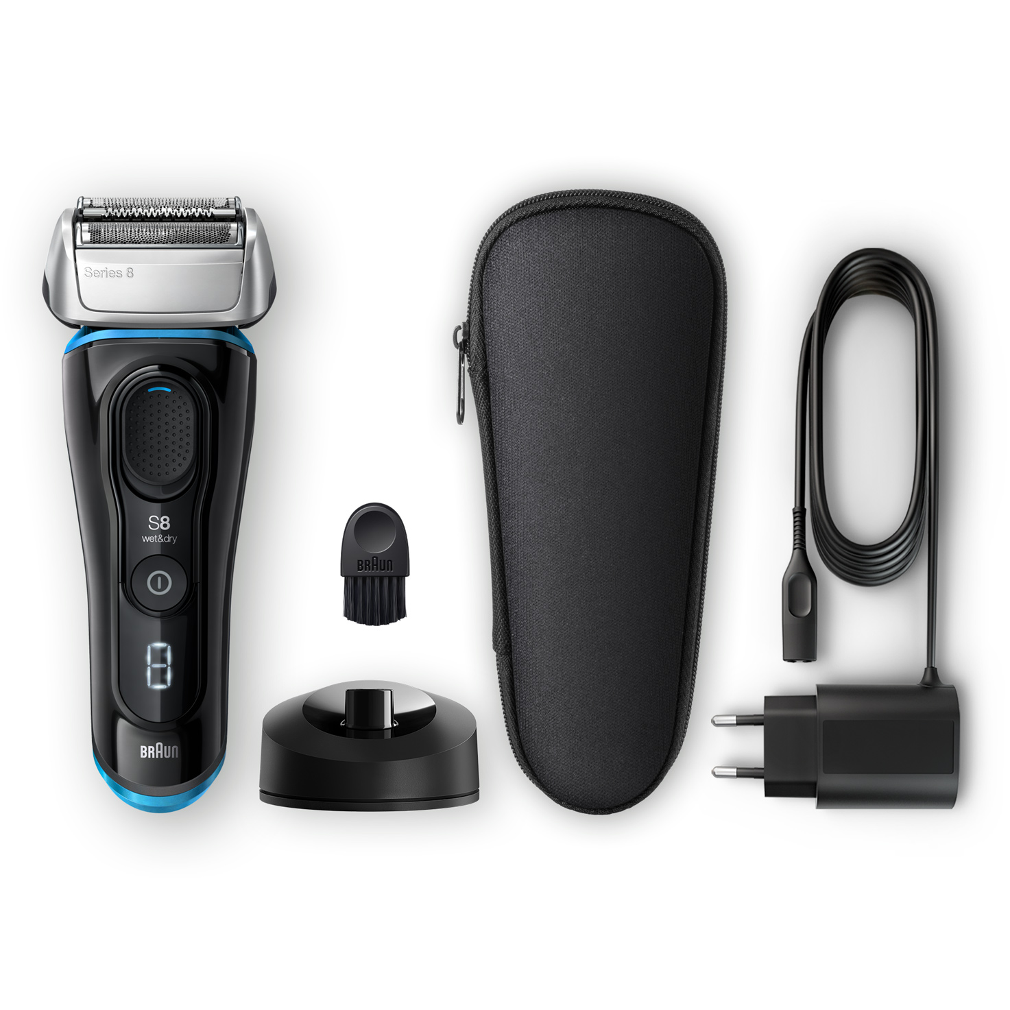 Series 8 8345s shaver - What´s in the box