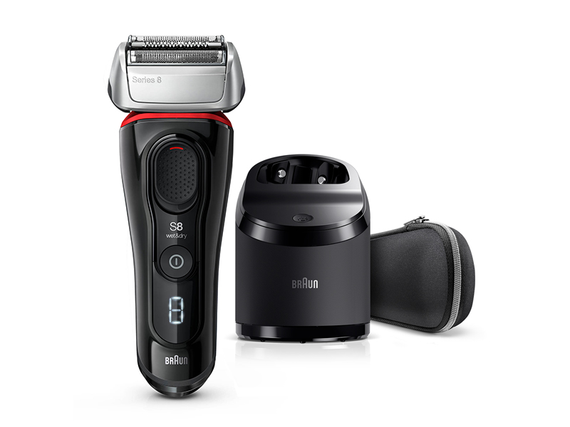 Series 8 8380cc Wet & Dry shaver with Clean & Charge station and travel case