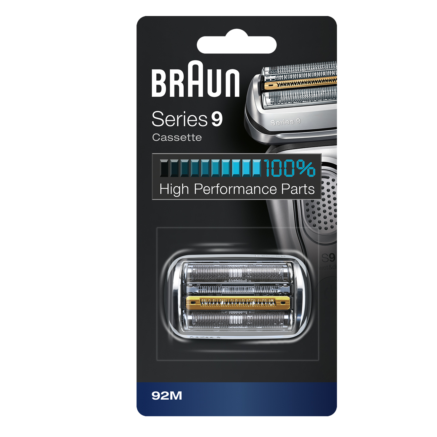 Braun Shaver Replacement Part 90M silver