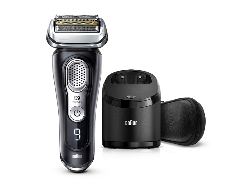 Series 9 9380cc Wet & Dry shaver with Clean & Charge system and leather travel case
