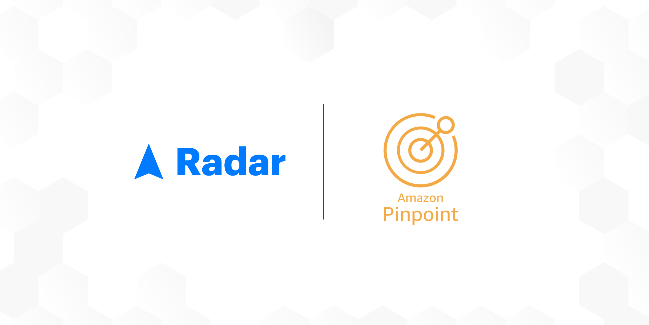 AWS Pinpoint + Radar