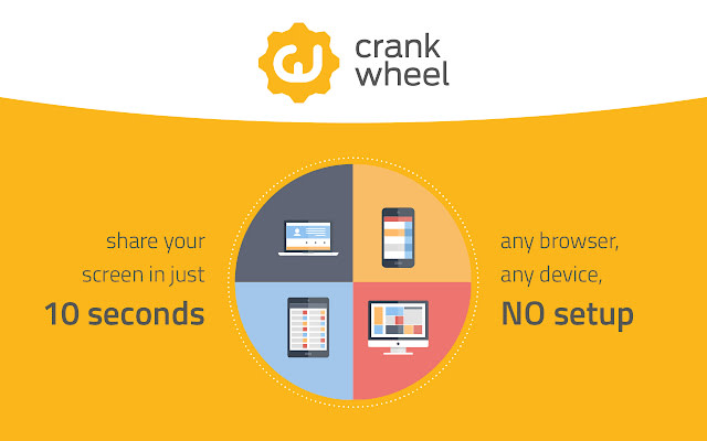 crankwheel chrome extension for small business