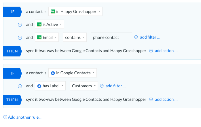 integrations happy grasshopper