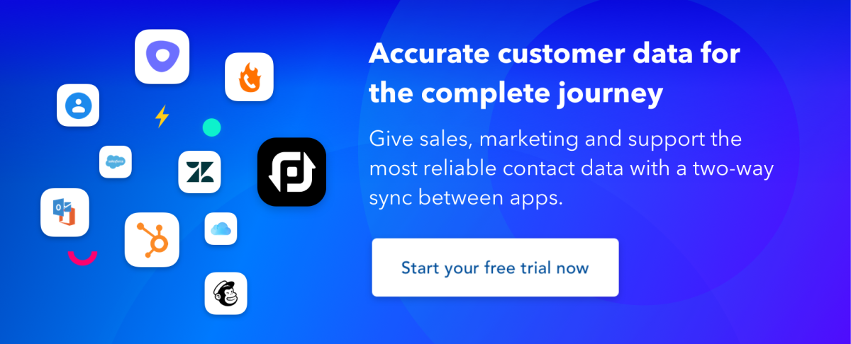 piesync cta start your free trial