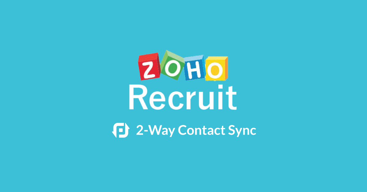 zohorecruit launch