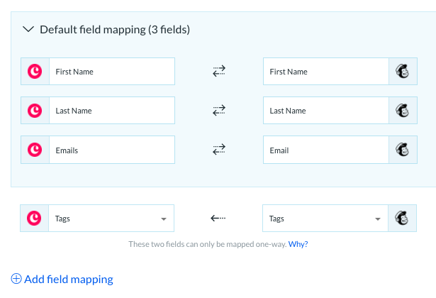 Connect Mailchimp and Copper data