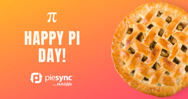 pi day piesync from hubspot
