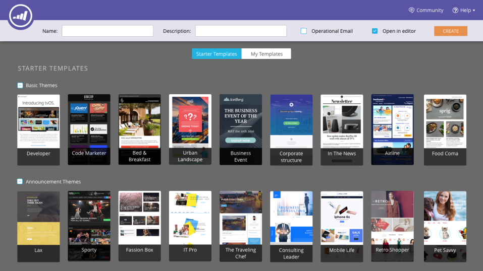Marketo email templates builder