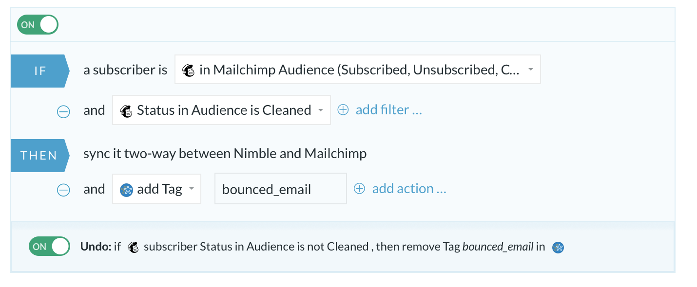 MailChimp-Nimble Bounced mails