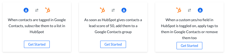 Connecting HubSpot and Google Contacts with PieSync