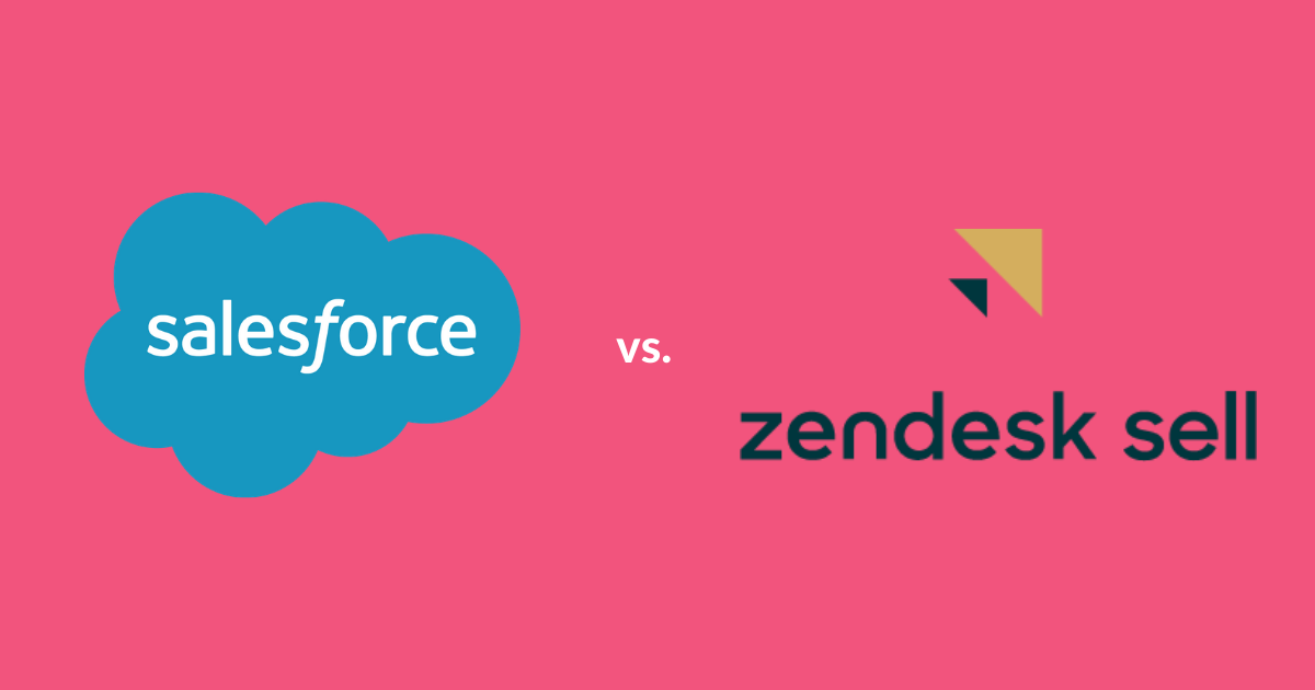 salesforce vs zendesk sell