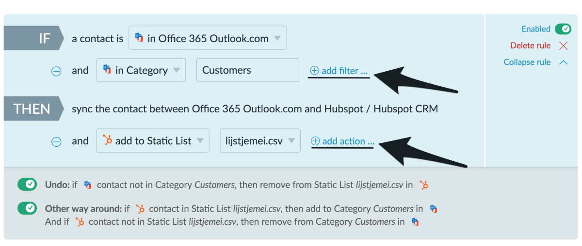 Connecting Office 365 Outlook contacts with HubSpot