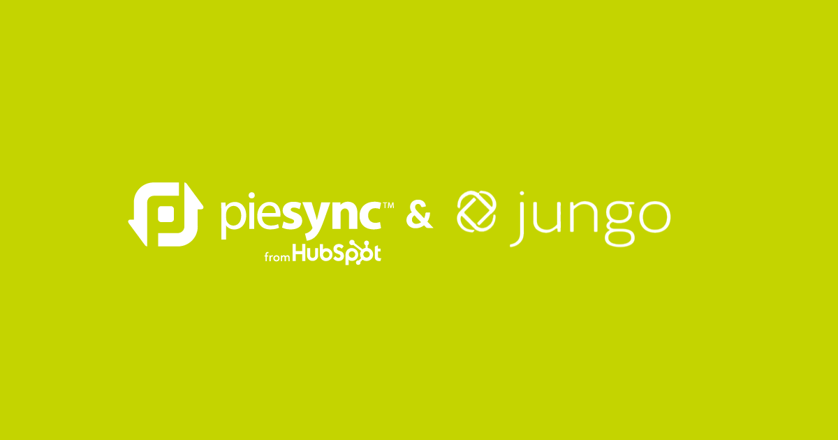 Jungo integration by PieSync