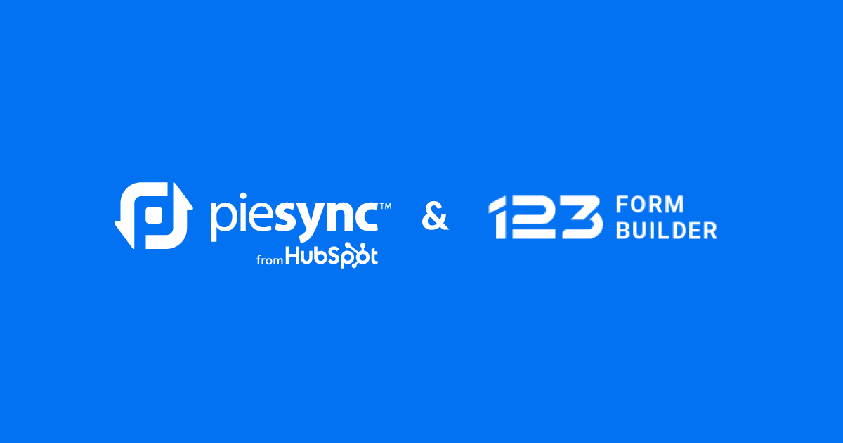 123FormBuilder integration by PieSync
