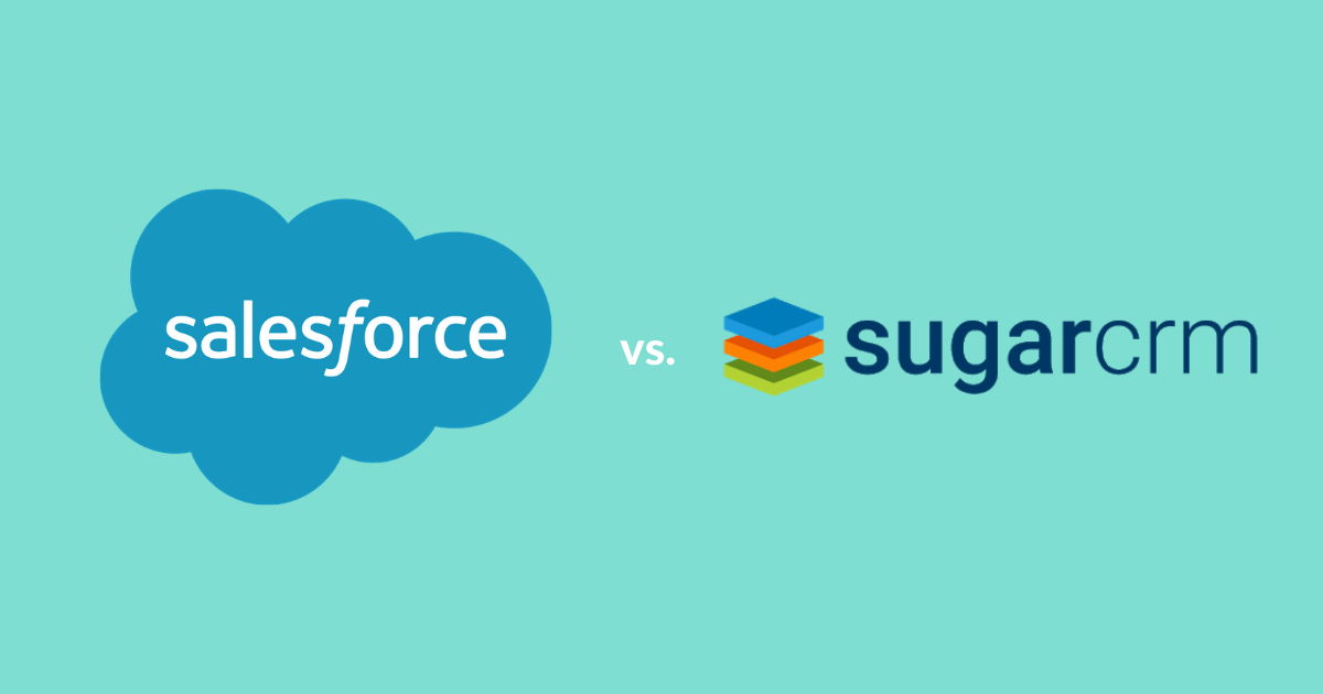 salesforce vs sugarcrm
