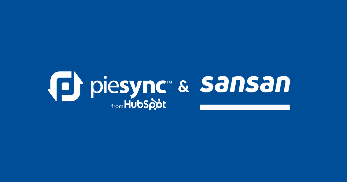 Sansan contact integration by PieSync