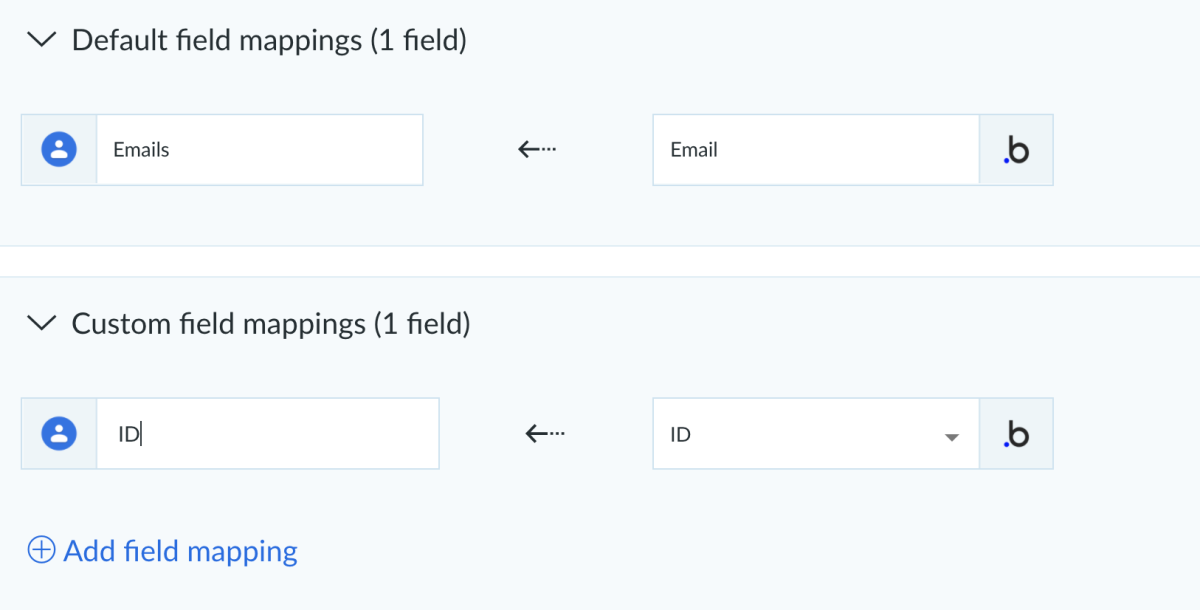 google contacts and bubble.io integration