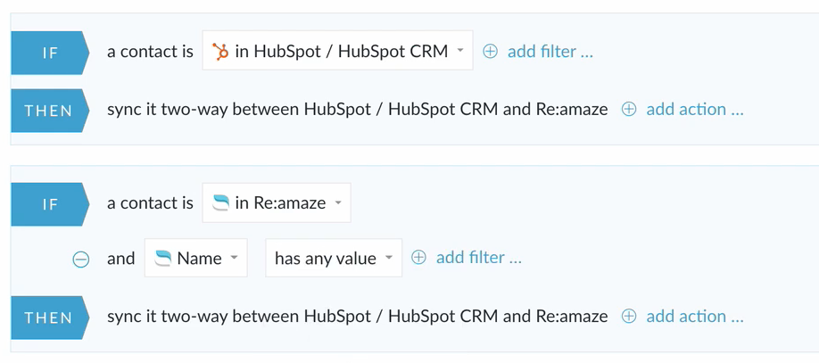 hubspot and reamaze