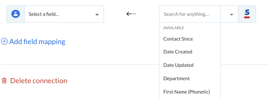 Integration for Google Contacts and Sansan