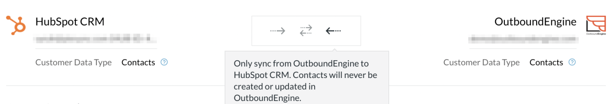 HS outboundengine arrows one way