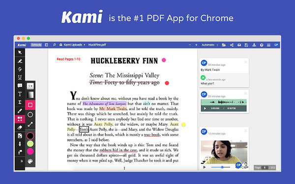kami chrome extension for small business