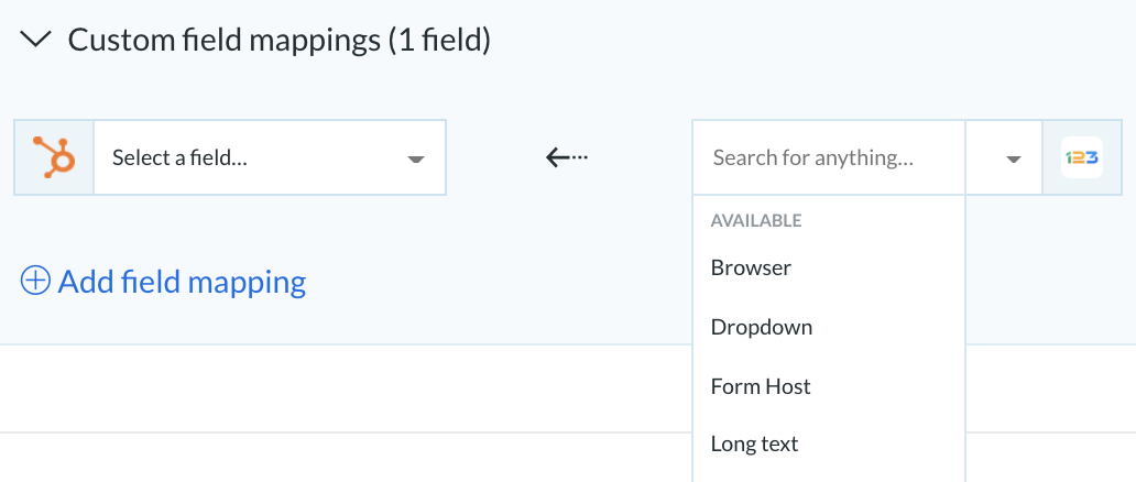 syncing 123formbuilder with hubspot