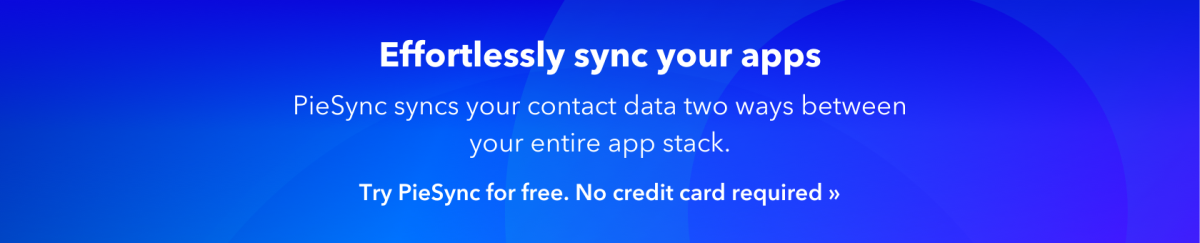 piesync sync your apps cta half height