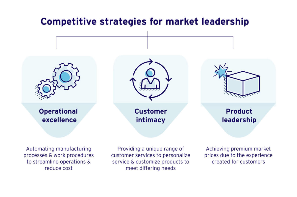 Competitive strategies for market leadership