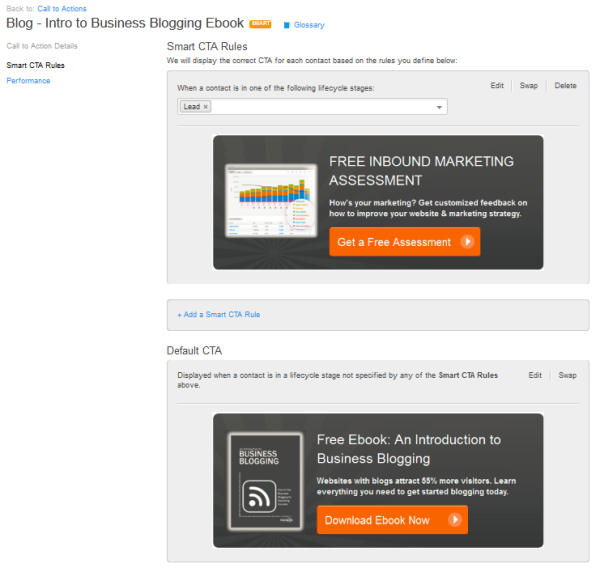 HubSpot dynamic CTAs for automated lead gen