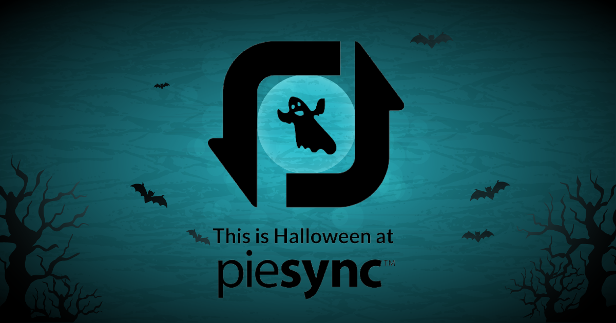 this is halloween at piesync