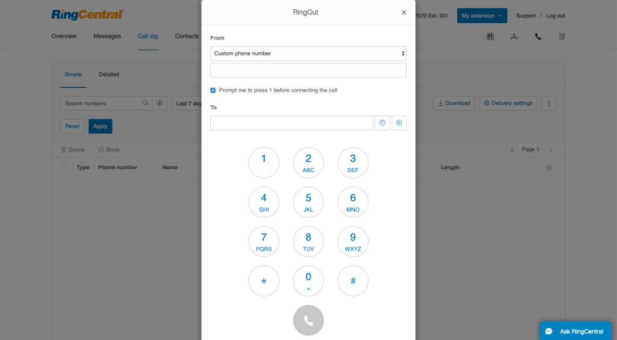 ringcentral ease of use