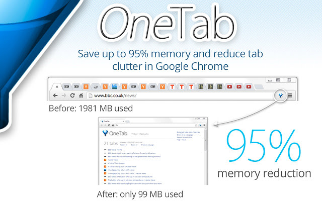 onetab chrome extension for small business