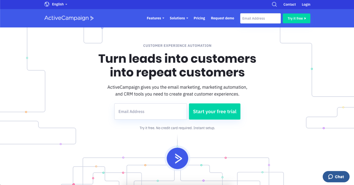 activecampaign homepage best productivity tools