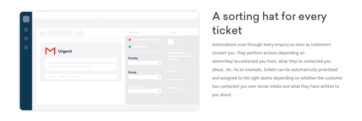 Freshdesk ticket automation