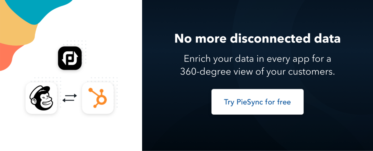 piesync no more disconnected data