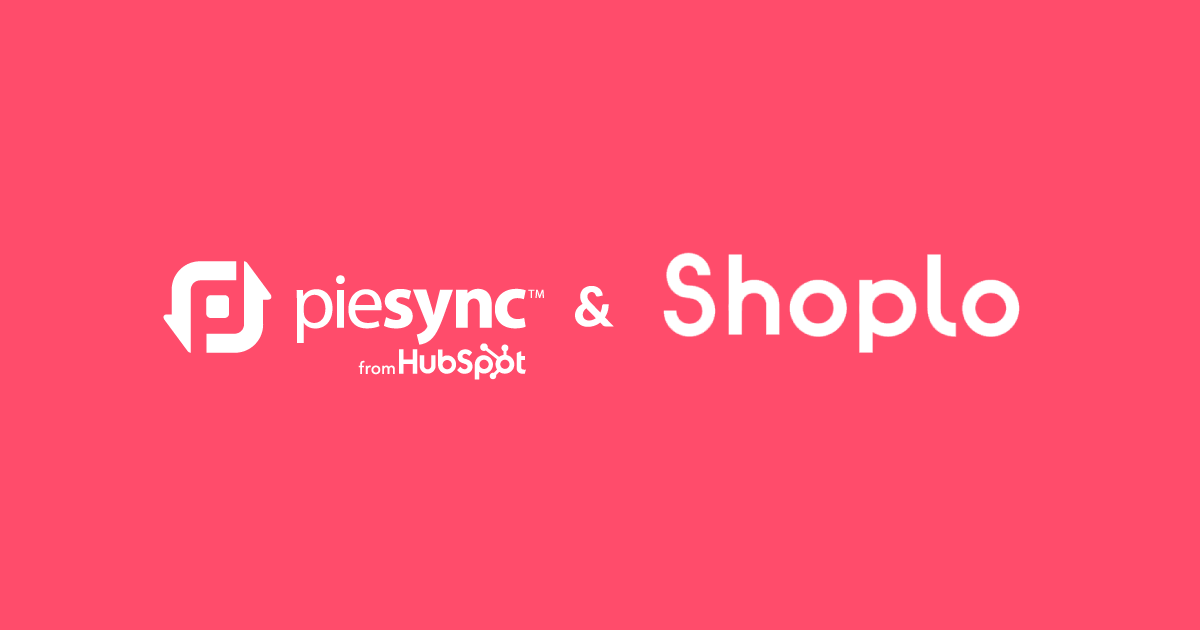 Shoplo integration from PieSync