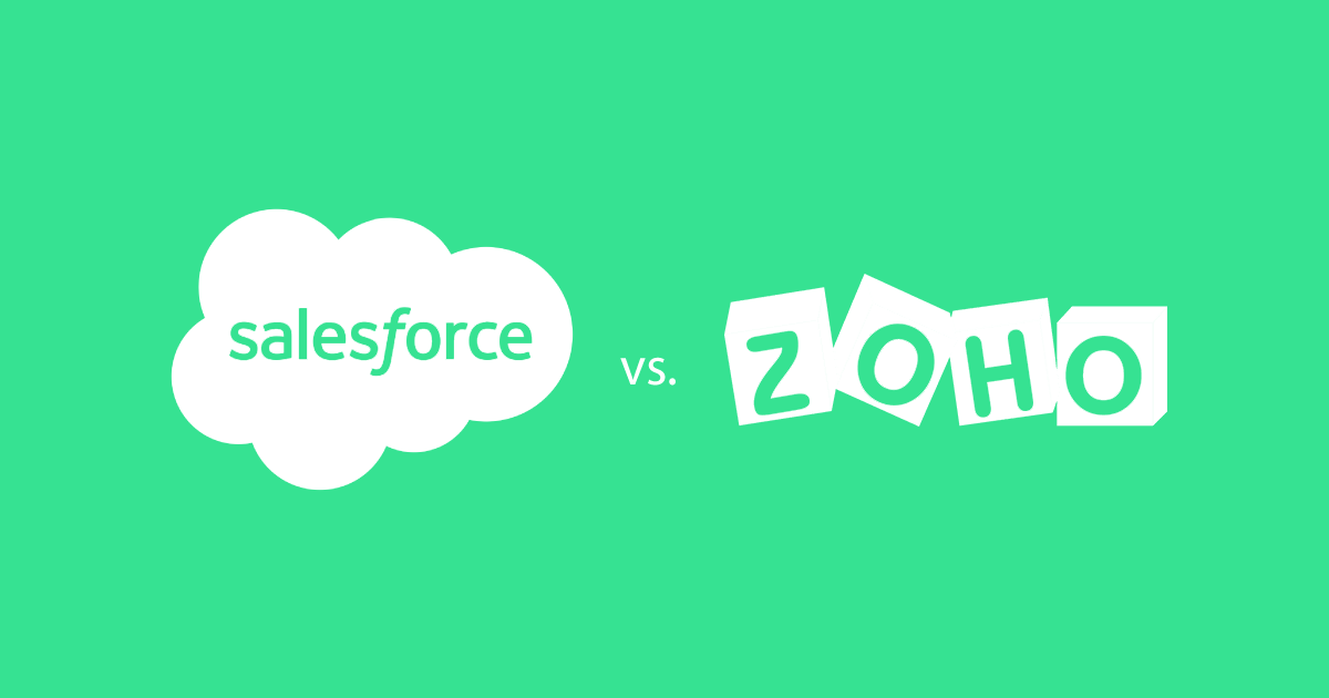 salesforce vs zoho crm