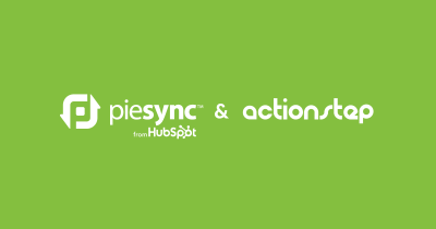 Actionstep is now connected to 243 apps via PieSync!
