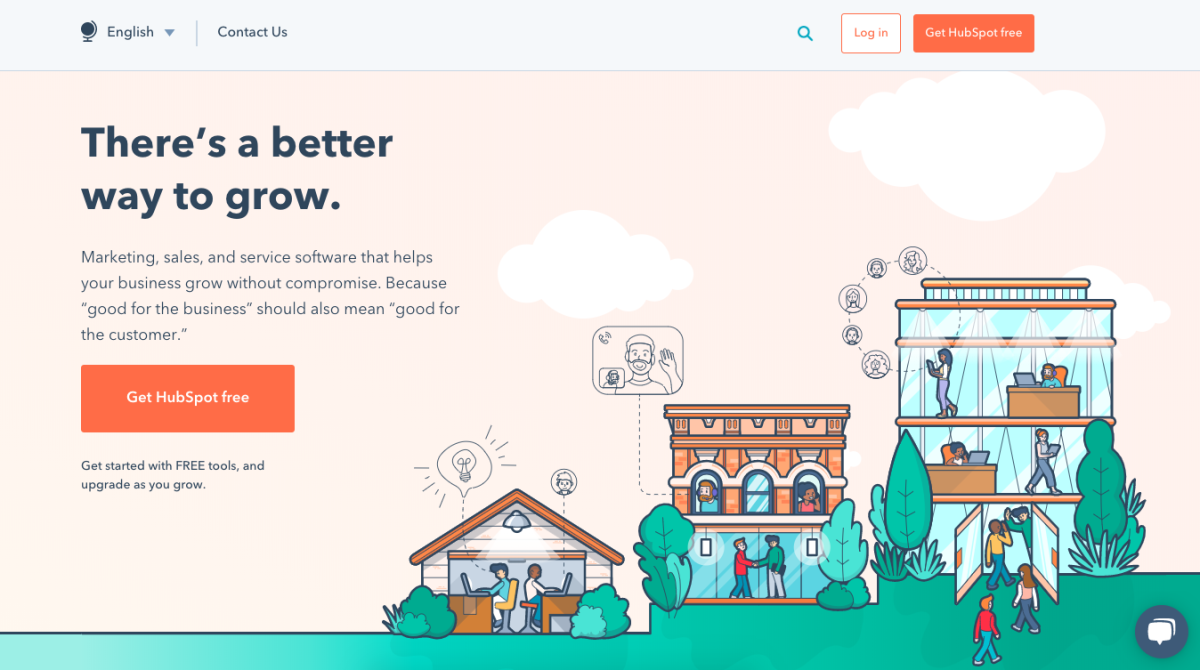hubspot homepage best productitivyt tools