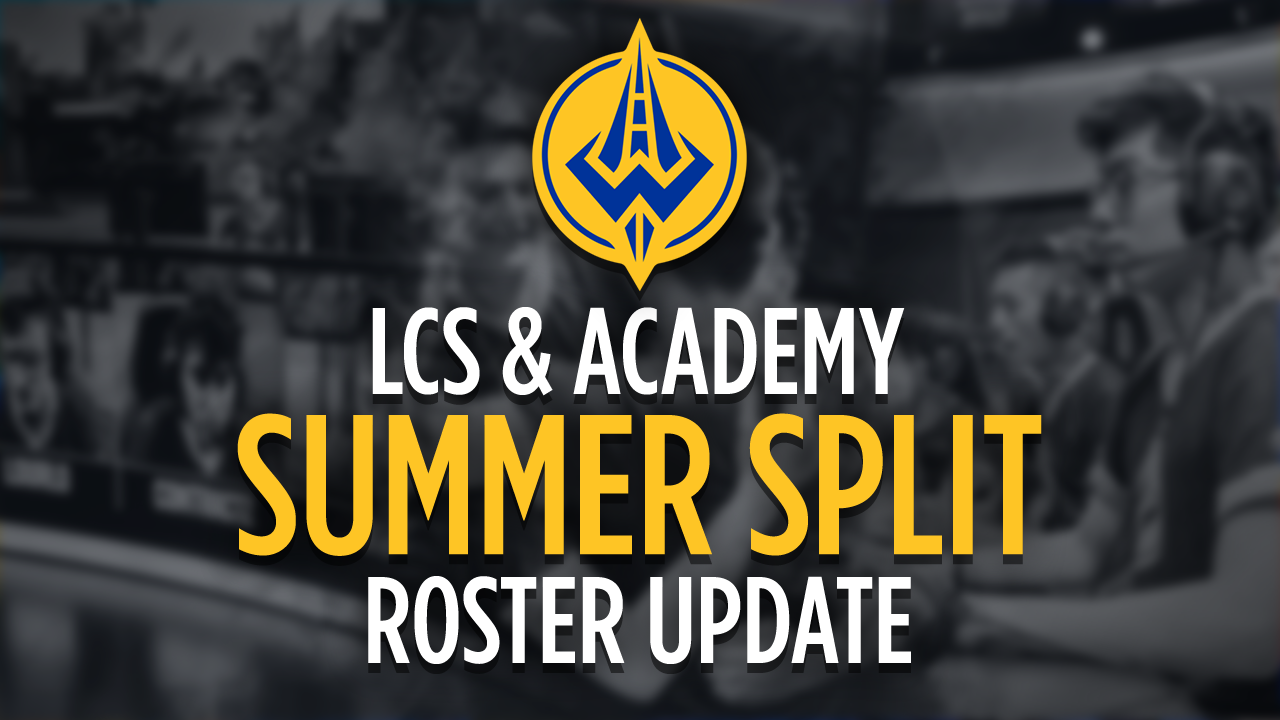 Golden Guardians Announce 2018 Summer Split Roster