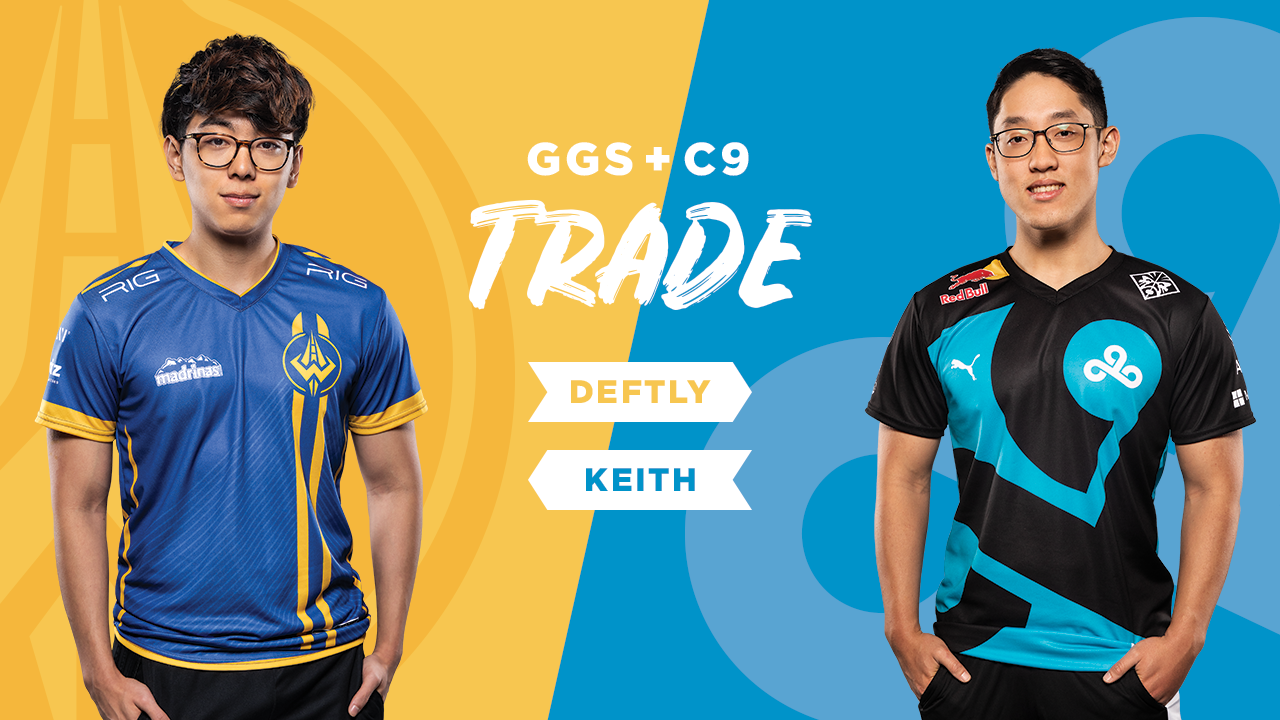 "Golden Guardians Acquire Yuri ""Keith"" Jew from Cloud9"