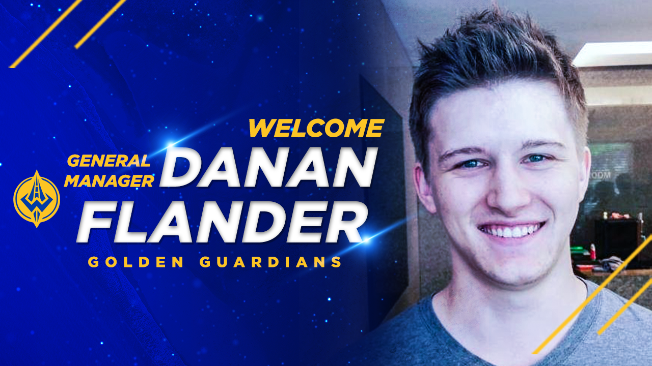 "GGS Name Danan Flander Team's First-Ever General Manager and Nick ""Inero"" Smith to Coach Golden Guardians in Team's Second Season of Competition"