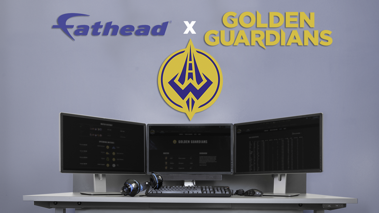 Fathead Teams Up with Golden Guardians to Launch New Line of Esports Merchandise