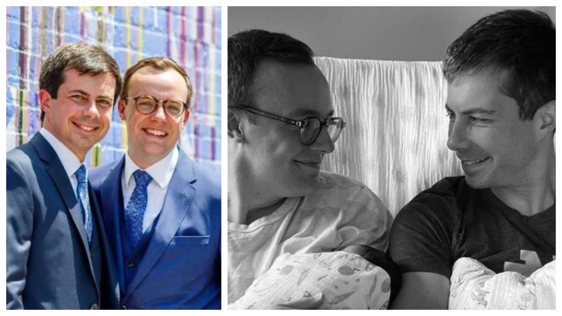 Pete Buttigieg And Husband Chasten Share First Photos Of