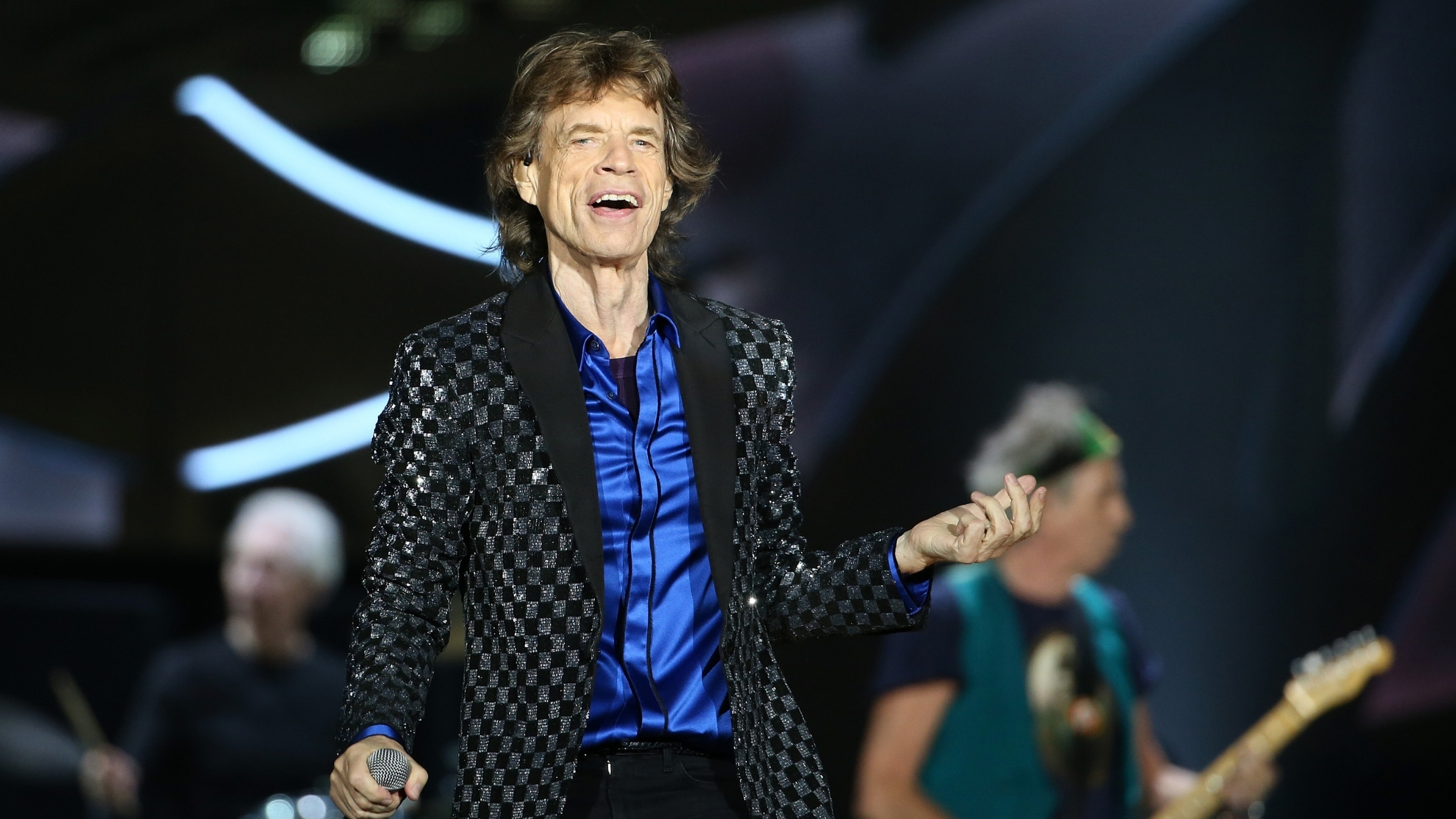 Mick Jagger, 77, Looks Like A Happy, Exuberant Dad In Pic With 4-Year-Old Son, Devereaux