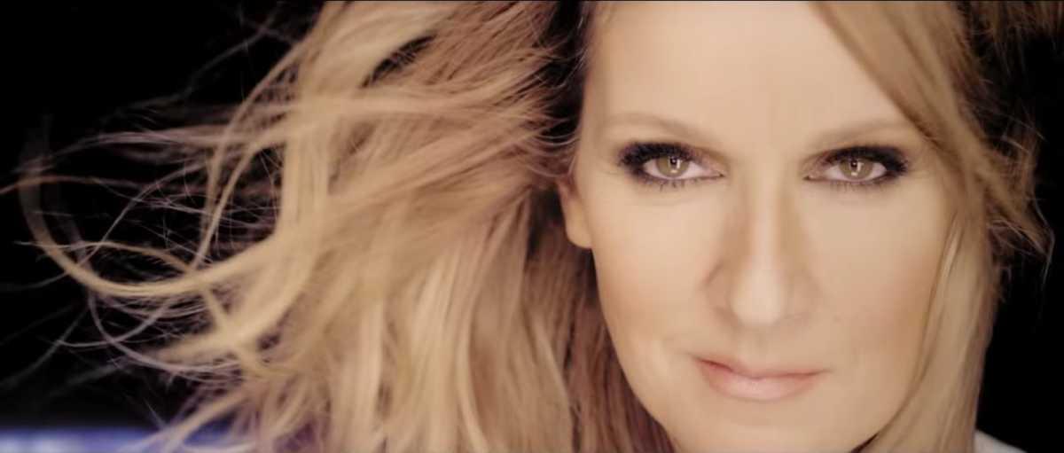 Celine Dion close up