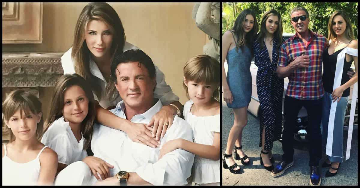 Sylvester Stallone S Daughters Are Professional Models Littlethings Com