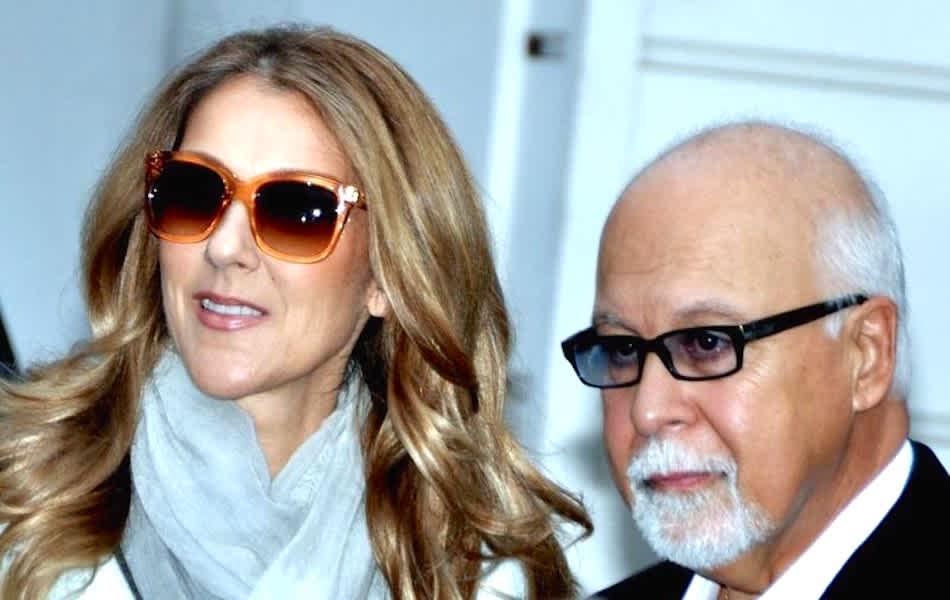 Céline Dion and René Angelil