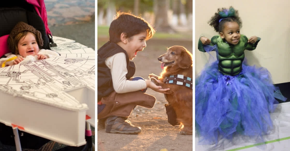 Adorable Kids Cosplaying Are The Halloween Inspiration You ...